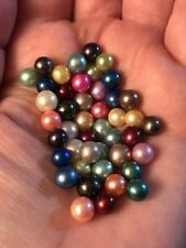 Akoya undrilled Pearls: PICK YOUR COLOR Pearl Or  choose  a Cage/Pendant