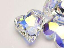 Modeschmuck-Anhänger aus Kristall mit Herz-Schliffform