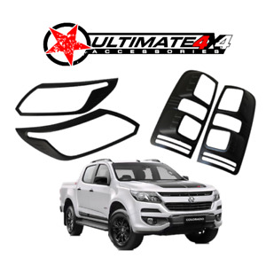 Head Light & Tail Light Cover Combo suits HOLDEN COLORADO 2017+