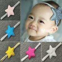 mädchen baby star - haarband elastische kopfbedeckung bündchen kopfschmuck