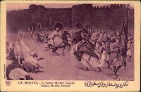 Meknès Marokko Maroc Africa Afrika ~1920/30 Sultan Moulay Ismaïl Ismael Schlacht