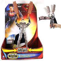 General Zod DUAL DESTRUCTION POWER ATTACK Deluxe Figure Super Man MAN OF STEEL