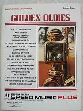 18 Golden Oldies Pop Songs 2 Different Arr EZ Play & More Adv Unmarked