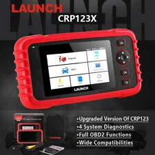 LAUNCH CRP123X OBD2 Scanner Automotive Diagnostic Tool 4 System As MD802 CRP123E