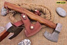 Hunting Wood Axe Damascus Steel
