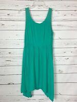 Altar'd State Women's M Medium Turquoise Sleeveless Cute Summer Tunic Tank Top