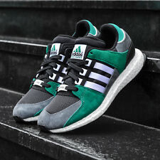 ADIDAS ORIGINAL EQT SUPPORT 93-16 BOOST MENS SIZE UK 9 GREEN TRAINERS S79923
