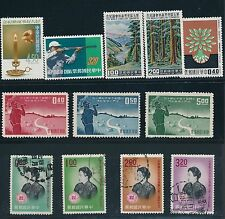 1959 - 1962 China (21) ALL DIFFERENT AS SHOWN: MH, MNH & USED; CAT VALUE $40+