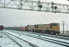 Union Pacific, UP 49, U50D +1, Snow Action, NICE!!
