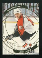 JOHN LECLAIR 2001 Topps Stadium Club PERENNIALS #P6 Philadelphia Flyers