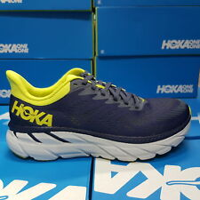 NEW Hoka One One CLIFTON 7 1110508/OGEP  - Grey/Yellow Running Shoes For Men's