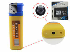 Hidden Camera Disguised Spy Lighter Cam DVR Video Recorder Security + 8GB Card