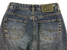 Silver Womens Jeans Button Fly Size 26 X 30 Straight Medium Wash Mid High Waist
