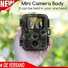 Mini Wildkamera Überwachungskamera 20MP FHD Fotofalle PIR Nachtsicht Jagdkamera