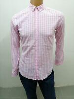 Camicia HUGO BOSS uomo taglia size M chemise man shirt maglia cotone P 5514