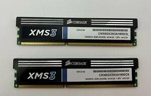 Corsair XMS3 6GB 3x2GB 1600MHz PC3-12800 DDR3 RAM DIMM  (lot 2) #8000  #800