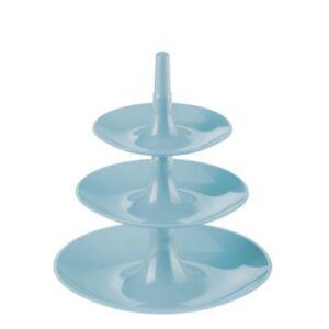 Koziol Babell XS powder blue - Etagere - Gebäckschale - NEU