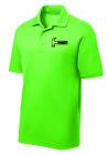 Hammer Men's Legend Performance Polo Bowling Shirt Dri-Fit Neon Green