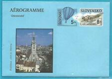 Slowakei Aerogramm ** postfrisch Flugzeug-Heißluftballon!