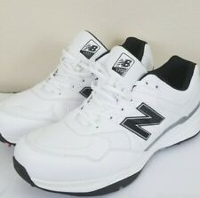 Size 13 Men's New Balance 1701 NBG1701 White Golf Shoes With Wrench