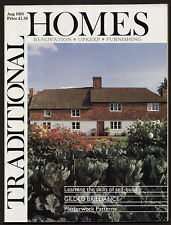 TRADITIONAL HOMES magazine August 1988