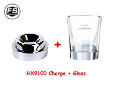 PHILIPS hx9100 caricabatteria//caricatore di vetro da denti Sonicare DiamondClean hx9340 hx9350 hx9360