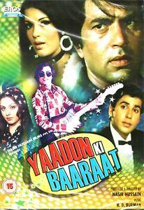 YAADON KI BAARAAT - DHARMENDRA - NEW BOLLYWOOD DVD - UK