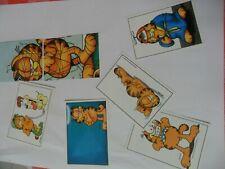 Pack de 32 cromos de la coleccion de 1989 Garfield de Panini nunca pegados