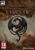 The Elder Scrolls Online Elsweyr - PC DVD Computer Video Game Bethesda Skyrim