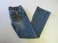 Miss Me Jeans 26 Boot JP622OBD Fleur de Lis Juniors