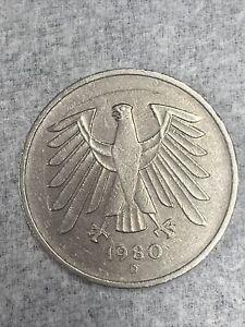 1980 D Mark 5 Coin
