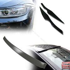 BMW E90 3-Series A Type Roof Spoiler & E90 Eyelids Eyebrows 2006-2011 §