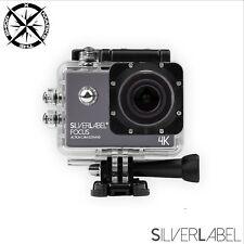 Silverlabel foco Cam Acción Ultra HD 4K Impermeable Acción Cámara + SD gratis de 16GB