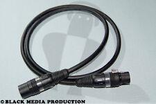 DMX XLR Kabel Binary 234 5 Pol 1 m HiCon nach DIN 110 Ohm (teilbelegt) *NEU*