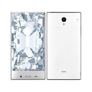 SOFTBANK SHARP AQUOS CRYSTAL 305SH ANDROID UNLOCKED SMARTPHONE JAPAN WHITE NEW