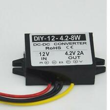 DC12V 7-22V Step Down 4.2V 2A Converter Module Buck Car Power Adapter Waterproof