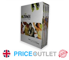 Zumba 4 Disc DVD Boxset - Fitness , Yoga - Brand new Rrp £29.99 (Z150A)