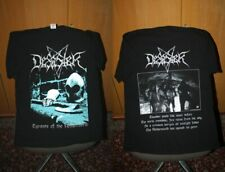 Desaster - Tyrants of the Netherworld T Shirt L Aura Noir Kreator Venom Bathory