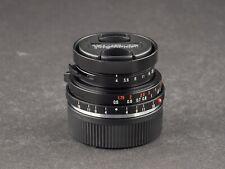 Voigtländer 21mm 4.0 color skopar für Leica M - FOTO-GÖRLITZ Ankauf+Verkauf