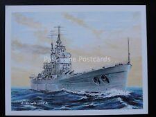 No.23 HMS VANGUARD -  Britains Maritime History - Player/Tom Thumb 1989