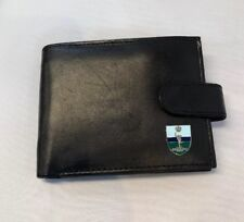 The Royal Signals Mens leather wallet with badge