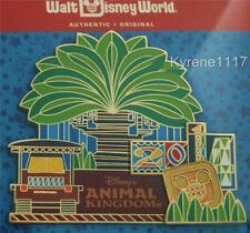 WDW DISNEY'S ANIMAL KINGDOM 2014 D GLOBE LOGO TREE OF LIFE JUMBO PIN LE 500