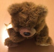 Ty Classic Sitting Bear Plush Named Magee From 1998