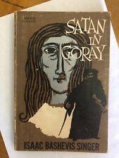 Satan in Goray Isaac Bashevis Singer VINTAGE BOOK Paperback Noonday Press 1958