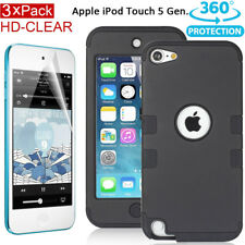 Tough Heavy Duty Case for Apple iPod Touch 5 5th Gen 5G Protective Cover+Film AU