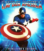 Captain America (1990 Matt Salinger) (Collectors Edition) BLU-RAY NEW