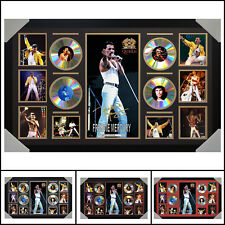 Freddie Mercury 4CD Signed Framed Memorabilia LTD - Large - Multiple Variations