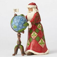 Jim Shore Santa w/Globe Figurine ~ Joy Is In The Journey ~ 4053708