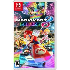 Mario Kart 8 Deluxe (Nintendo Switch, Video Game 2017) Brand NEW, Sealed Disk