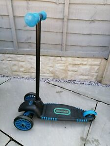 Little Tikes Lean Turn Scooter Blue & Black Good Condition